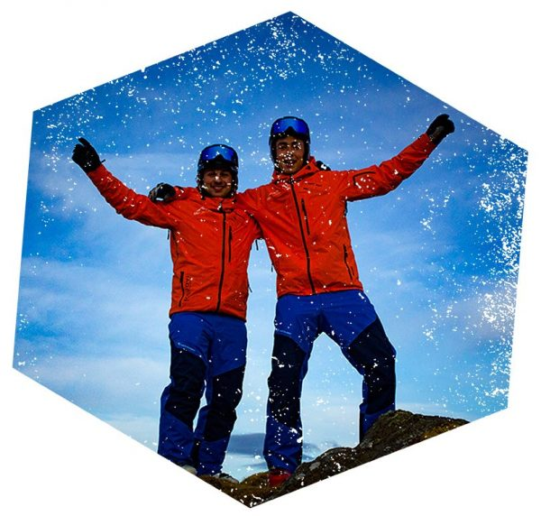Max en Avi Ski Like a Pro privé-leraar